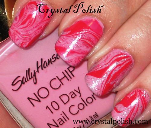 Marble Nail Polish Instructions: Style It Girl: Marble Nail Art