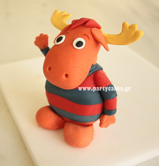 Tyrone from 'The Backyardigans' (Party Cakes By Samantha) Tags: cake tyrone backyardigans backyardignascake