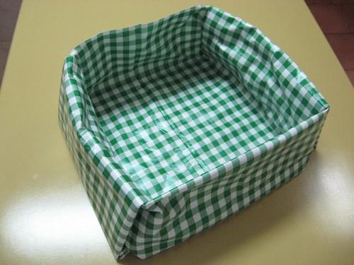 cesta que vira toalha de mesa 7667
