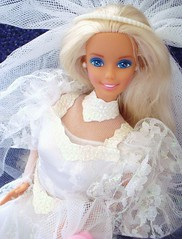 Wedding Fantasy Barbie 1989 (Chicomttel) Tags: wedding barbie fantasy 1989 mattel inc
