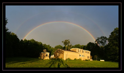 Double rainbow over Greenhaven
