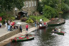 Boating on the River Nidd, Knaresborough (pluralzed) Tags: river boat boating rowing knaresborough northyorkshire rowingboat nidd rivernidd