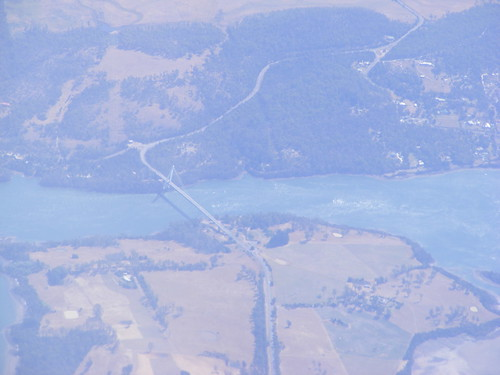 Batman Bridge from the Air