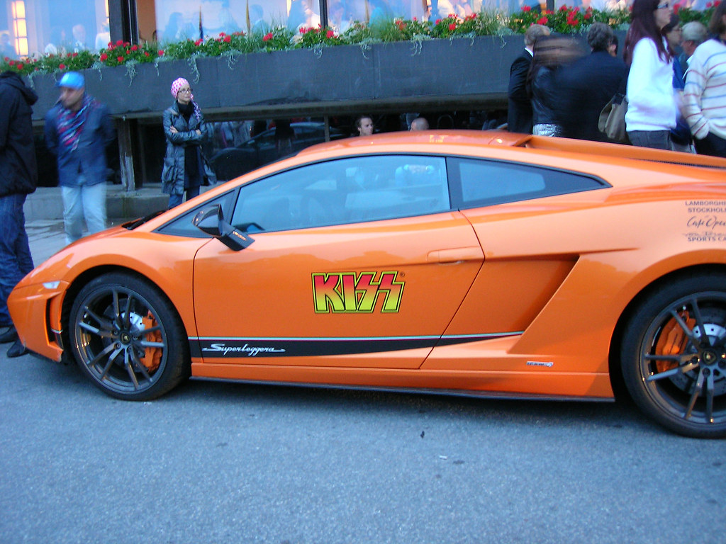 Lamborghini for the KISS in Stockholm - 3