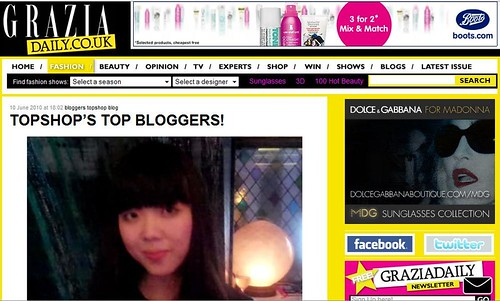Grazia Top Bloggers