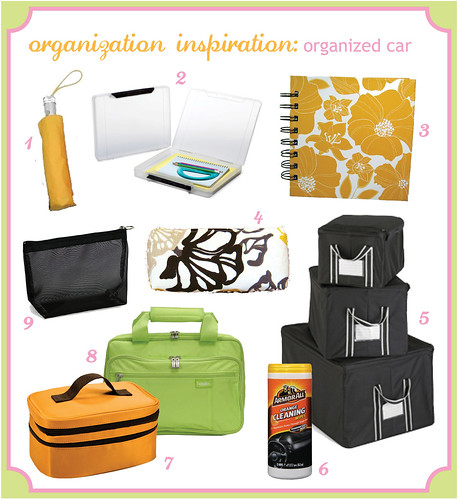 Organization Inspiration: organized car