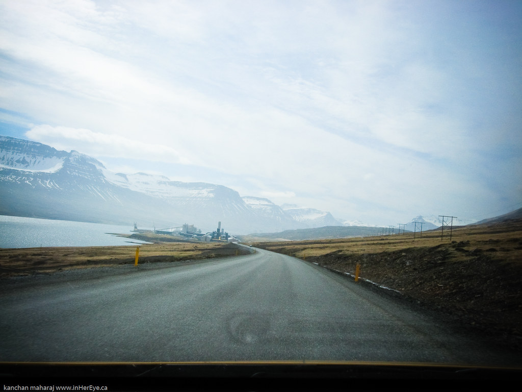 Iceland Day 6 - Eastern Fjords - Alcoa Plant