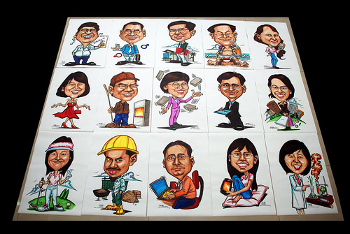 Caricatures for NUS -second batch - 1