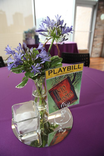 music theme wedding centerpieces