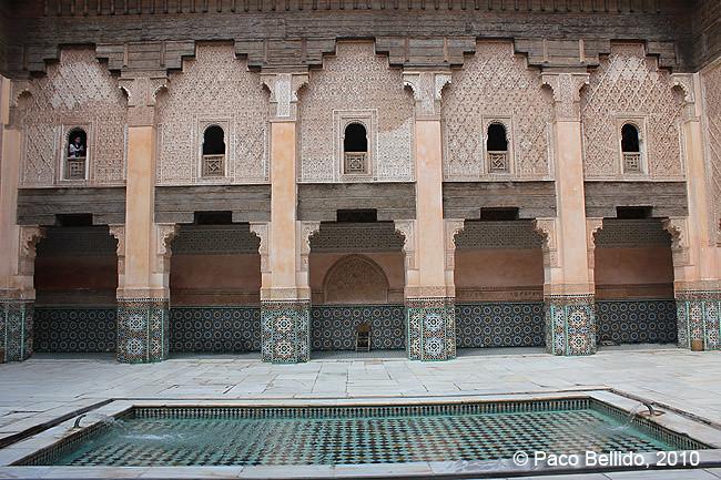 Madrasa Ben Yussuf. © Paco Bellido, 2010