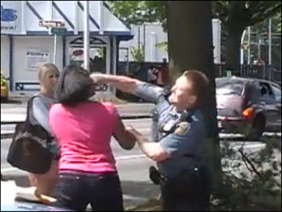 Seattle police punch