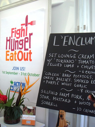 L'Enclume - Action Against Hunger Pop-Up