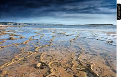 Sour Times (juandiegojr) Tags: blue sky seascape beach azul clouds marina sand rocks waves portishead playa paisaje arena cielo nubes olas rocas beja marea franga sourtimes vilanovademilfontes portigal nikond90 juandiegojr lee09ndgradhard juandiegojrcom lee06ndgradsoft nikkor1424mm28gedafs lee100mmcircularpolarizer