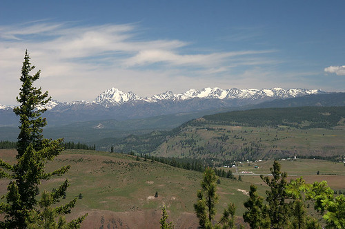 Vista from Tamarack Ridge Road - Taneum