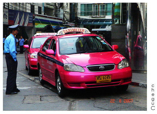 pink cabbie