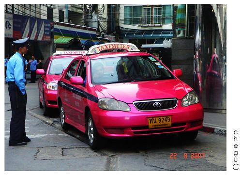 pink cabbie
