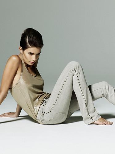 Moda mujer verano 2010, colección Denim de Victoria Beckham