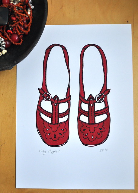 Ruby Slippers large print
