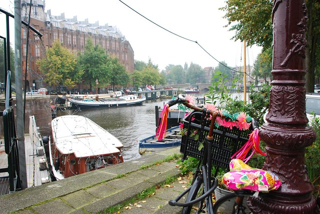 bicycles and houseboats