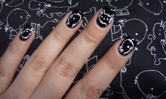 Jip en Janneke Children's Book Nail Art Design