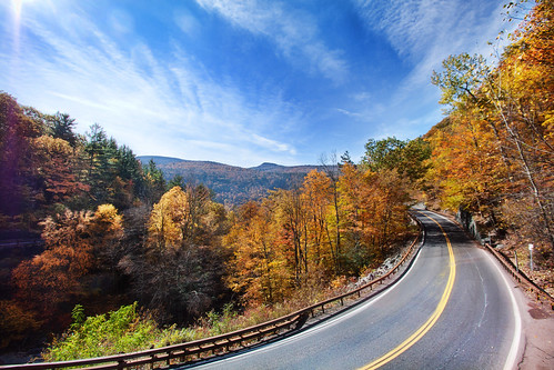 'The Long and Winding Road', United States, New York, Catskill Mountains, Kaaterskil Valley