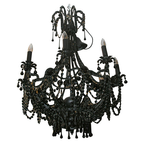 Venfield Black Gothic Chandelier