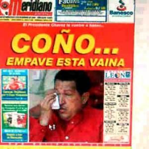 COÑO Meridiano twitt