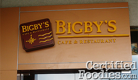 Bigby's Cafe & Restaurant in SM Mall of Asia - CertifiedFoodies.com