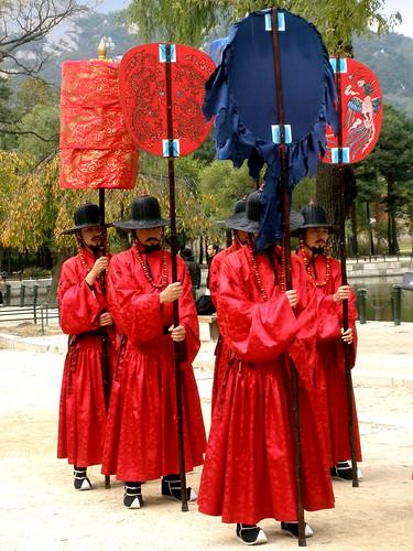 Royal Procession @ Gyeongbokgung