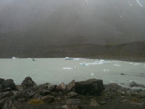 フッカーヴァレーの氷河