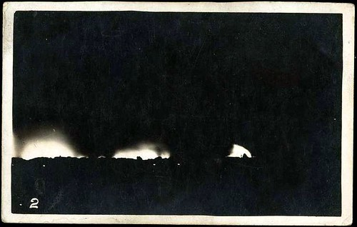 İzmir yanıyor. 13 Eylül 1922
