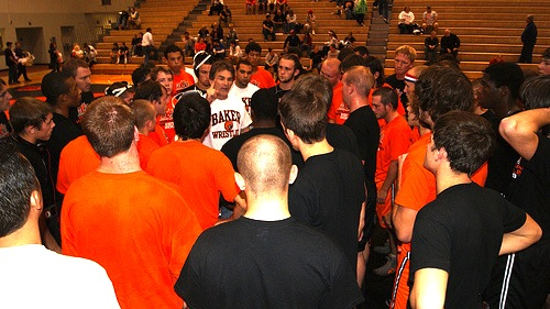 Coach May and Team
