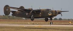 Ol' 927 B-24 Liberator (Bill Jacomet) Tags: raw texas houston airshow ww2 bomber liberator warbird b24 warplane iphotooriginal wingsoverhouston ellingtonfield ol927