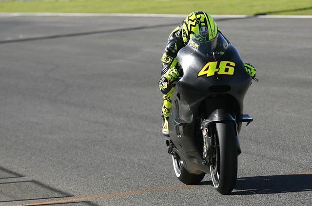 Valentino Rossi Ducati Test