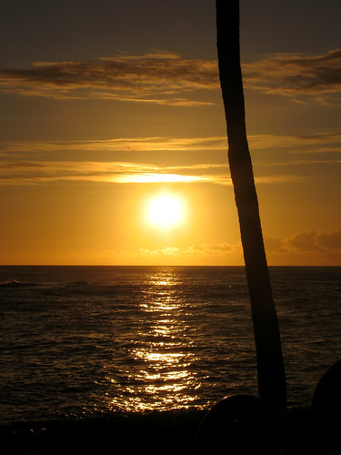 Sunset at the Beach House Restaurant, Kauai