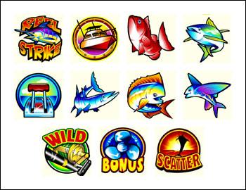 free Reel Strike slot game symbols