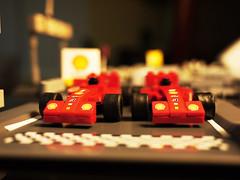 We're almost there! (Daniel Y. Go) Tags: car toy lego philippines shell f1 ferrari racingcar m43 gf1 mft vpower panasonicgf1 gettyimagesphilippinesq1