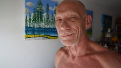 Naked Artist.  Sign in to see me naked. (Terry David Silvercloud) Tags: nudeartist nakedartist nudist nakedmen