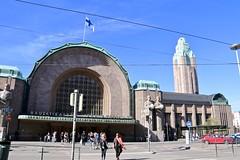 Central Railway Station, Helsinki, Finland (susiefleckney) Tags: helsinki finland centralrailwaystation elielsaarinin jugendarchitecture