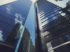 Glassy Midtown (maxdog441) Tags: city atl atlanta buildings skyscraper georgia midtown buckhead glass modern urban iphone