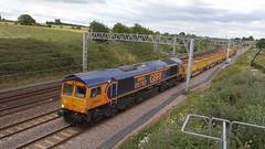 66760 David Gordon Harris (66760 David Gordon Harris) Tags: gbrf class66 66760 heamiesfarm toton basfordhall 6k50
