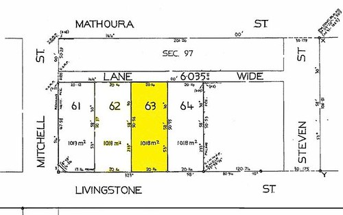Lots, 62-63 Livingstone Street, Mathoura NSW 2710