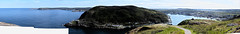 St. John's panorama (Trevdog67) Tags: panorama stjohns newfoundland harbour fortamherst signalhill thebattery capespear iceberg canada