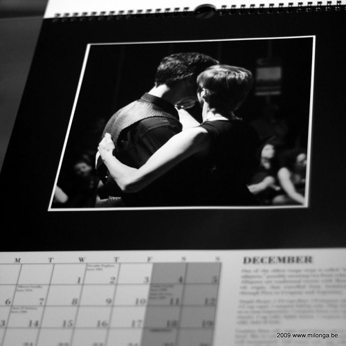 Custom milonga.be calendar