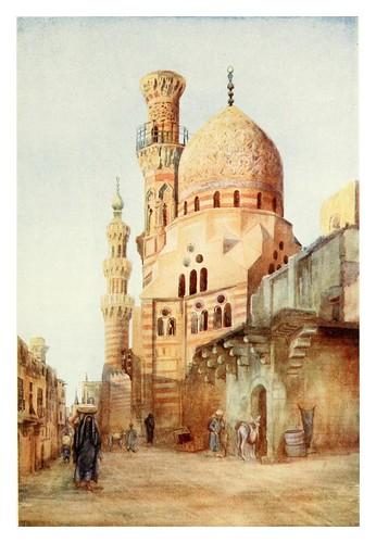 026-Mezquitas en el Sharia Bab-El-Wazir del Cairo-Cairo, Jerusalem, and Damascus..1907- Margoliouth D. S.