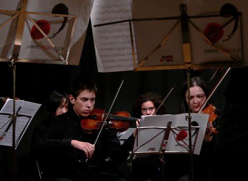 ORQUESTA JUVENTUDES MUSICALES-UNIVERSIDAD DE LEÓN - VILLARINO DE LOS AIRES (SALAMANCA) 26.12.09