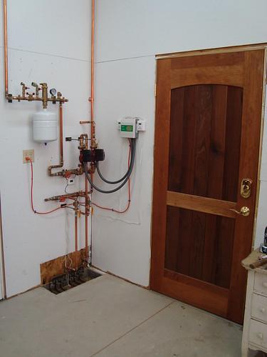 Heat system controls