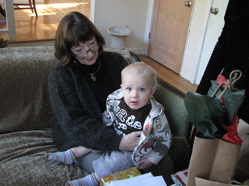 Seth on Grandma's lap