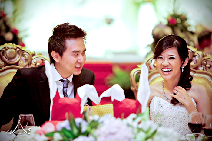 Tjin & Christine, the happy newlyweds