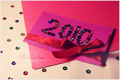 happy new year ~ (hana photography ) Tags: pink sony  card hana bent mohammad 2010   p dslra20 ht hanabentmohammad